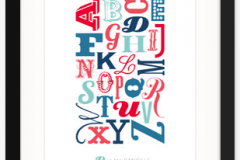 Know Your Letters Poster